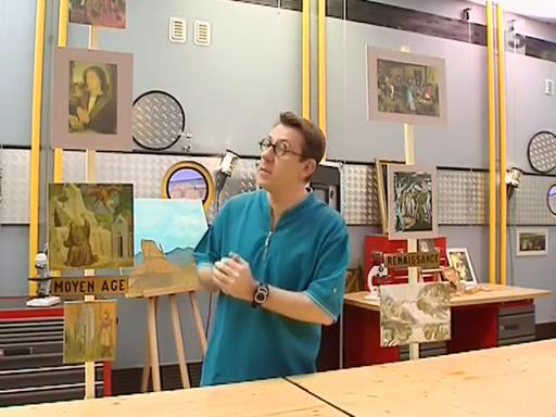 La restauration des oeuvres d'art – C'est pas sorcier