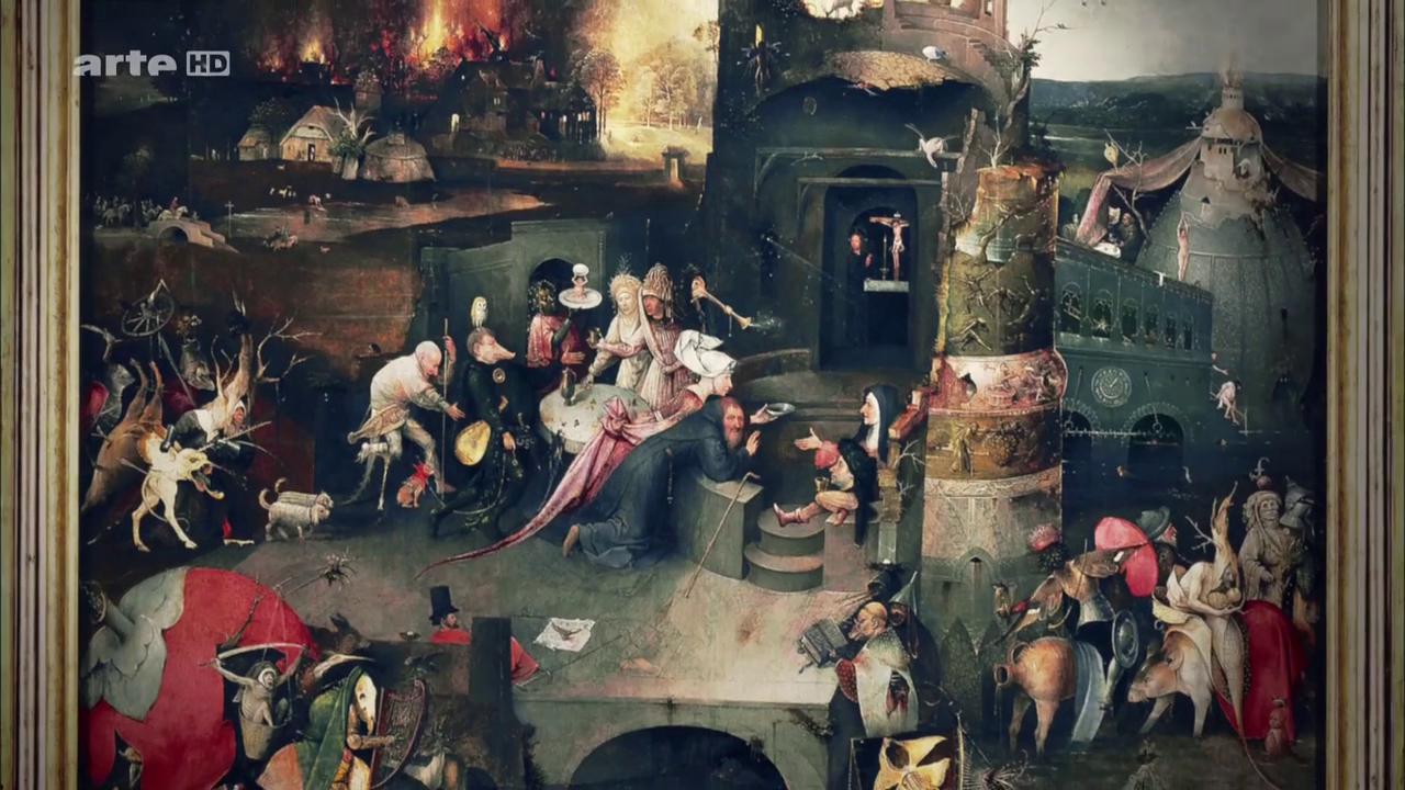 «La Tentation de saint Antoine», 1501, Jérôme Bosch
