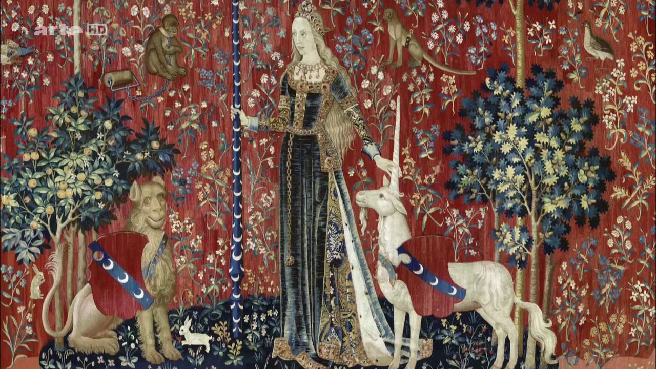 «La Dame à la licorne», 1500 (Anonyme)