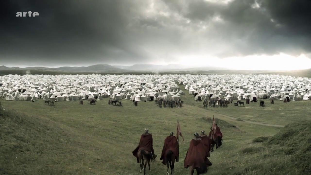 Charlemagne (2), La guerre contre les Saxons