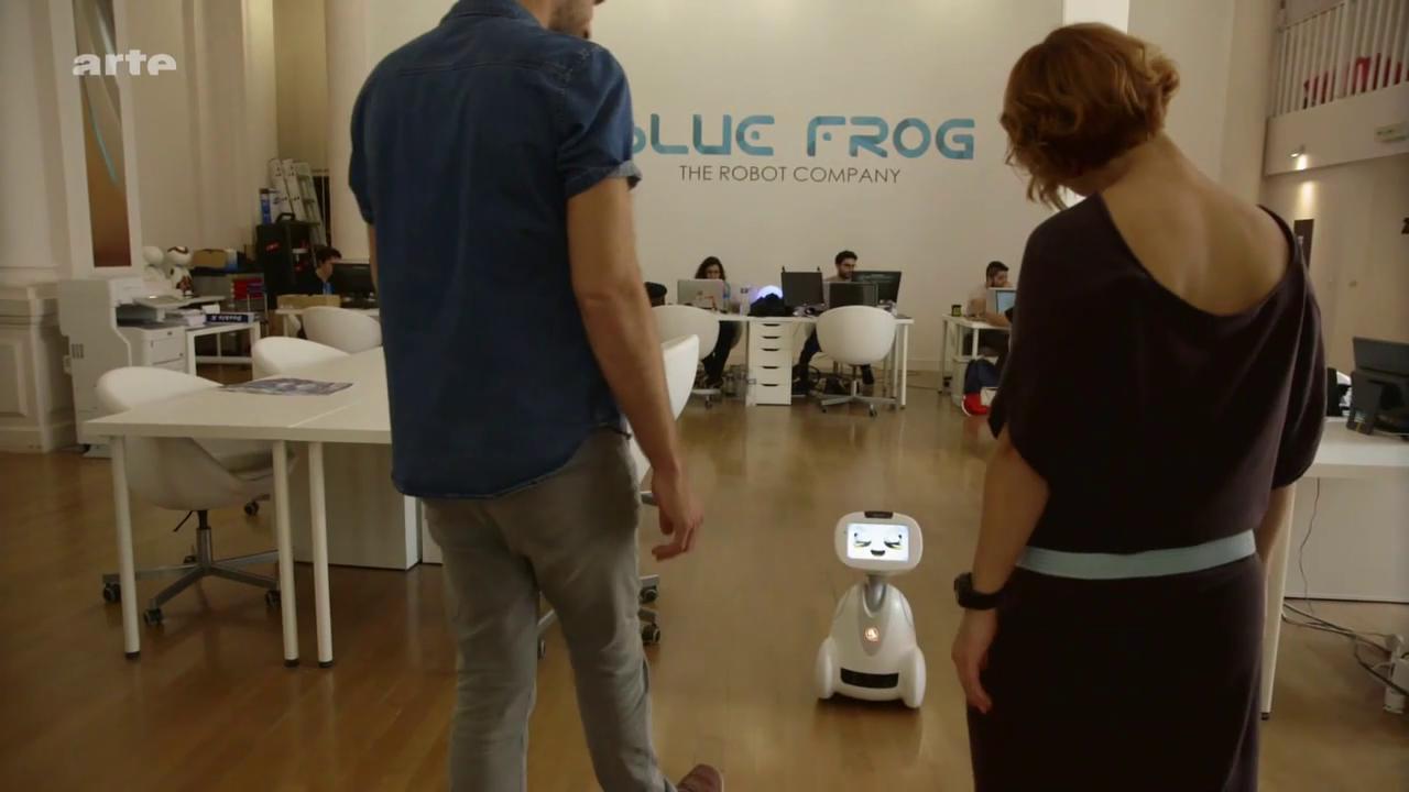 Les robots de compagnie – Xenius