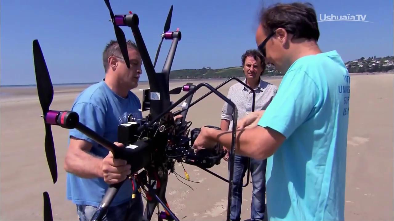 Les drones les sentinelles de l'environnement-documentaire science & technique